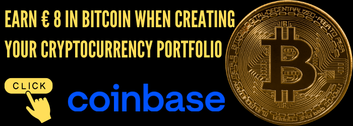 Earn € 8 in Bitcoin when creating your cryptocurrency portfolio