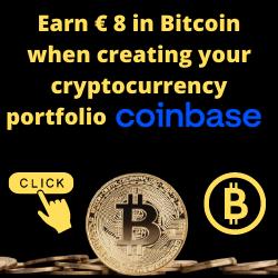 Earn € 8 in Bitcoin